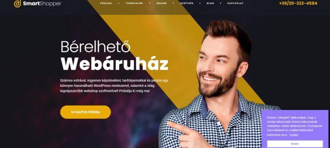 A bérelhető webáruház egyre népszerűbb