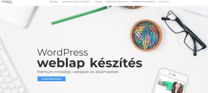 WordPress honlapkészítés villámgyorsan